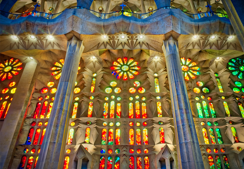 Colors of Gaudi