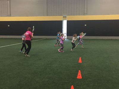 Proud to Play Like A Girl Lacrosse Clinic 1-28-17