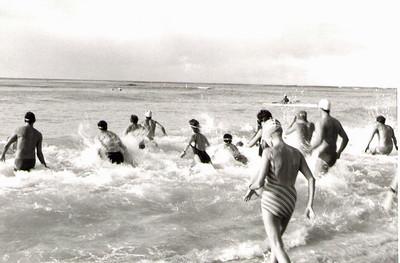 33rd Annual Castle Swim 11-30-1986