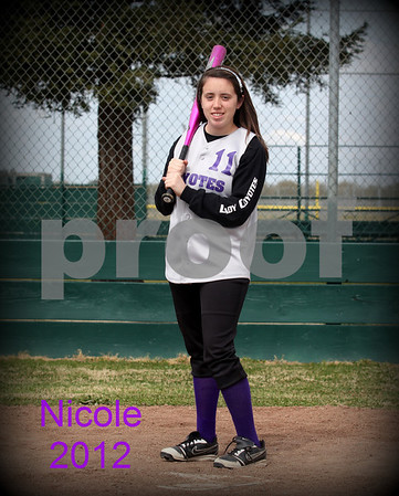 Denair softball 2012