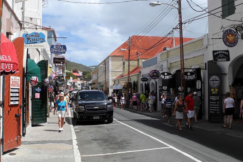 Cruise ships are the St. Thomas economy