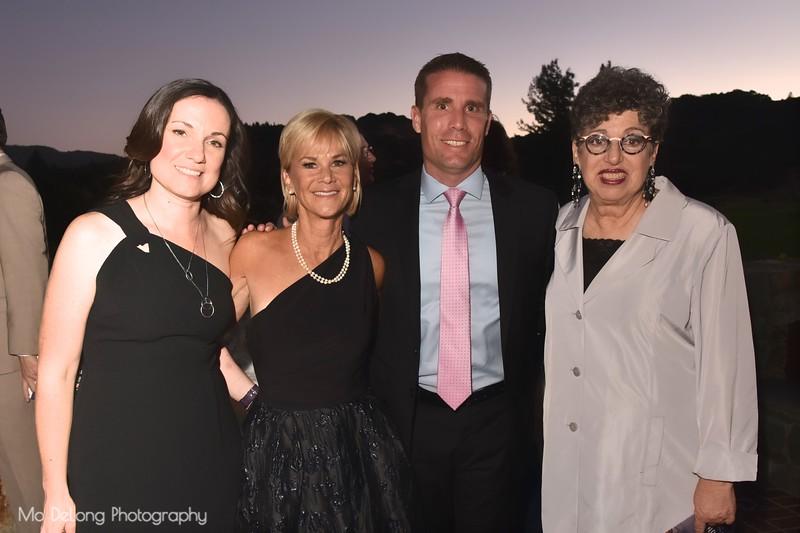 Erika McGuire, Kathleen Woodcock, Senator Mike McGuire and Carole Mills