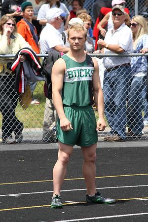 Boy's 400 Meter Relay - 2012 MHSAA LP D3 T&F