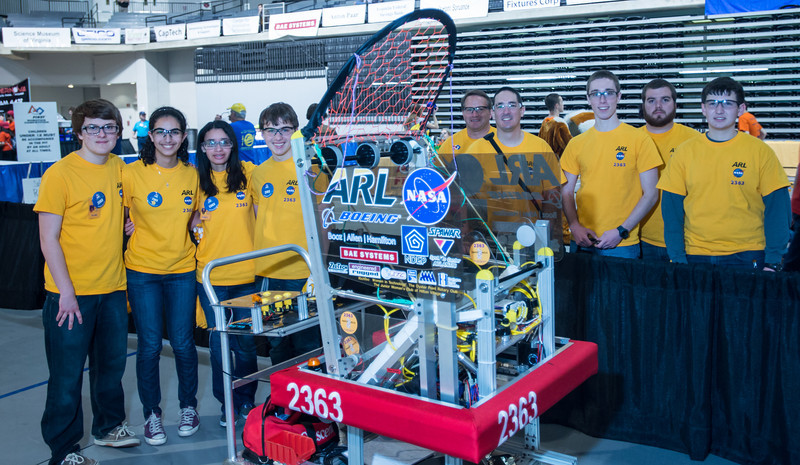 FIRST  - FRC 2014 VA Regional WINNERS (TEAM AND INDIVIDUAL)  and small group