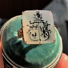 'Pineapple Family Crest' Chalcedony Ring, by Seal & Scribe 29