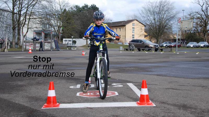 Stop - nur Vorderrad.wmv