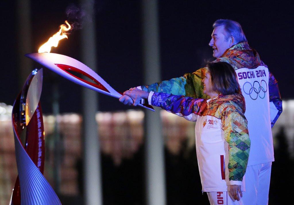". <p>5. (tie) IRINA RODNINA <p>No more racist than anyone else in the Russian government. (unranked) <p><b><a href=\'http://www.usatoday.com/story/sports/olympics/sochi/2014/02/08/irina-rodnina-torch-bearer-racist-tweet-sochi-ceo-dmitriy-chernyshenko/5311577/\' target=\""_blank\""> HUH?</a></b> <p>    (Matt Slocum/AFP/Getty Images)"
