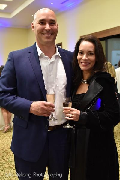Chris Friscia and Monique Moral