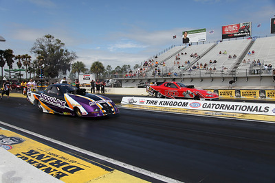 Top Alcohol Funny Car Winners Circle