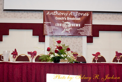 AAMU 2011 Louis Crews Classic  Anthony Jones Coaches Breakfast