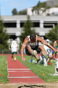 2015 Cal Poly Track Long and Triple Jump