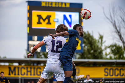 9-26-21 - Best of Michigan Men's Soccer Vs Northwestern