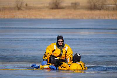 A-Shift Ice Rescue Training