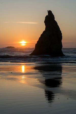 Sunset shot in Bandon.