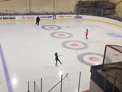 Libby Skating Lake Placid