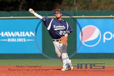 Kamehameha Hawaii Baseball - Mar 5-16-14