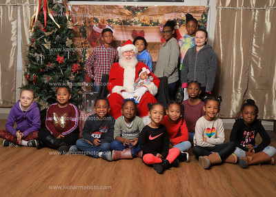 Pushing for a Change ,Inc  day with Santa 2019