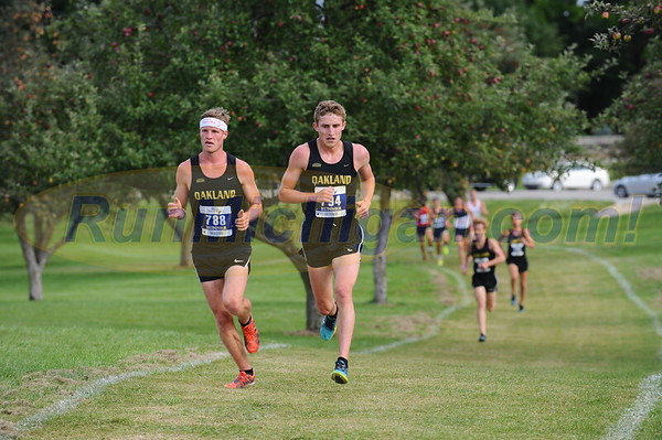 Men's Mid-Race - 2017 OU Golden Grizzly College Invite