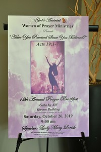 Women of Prayer Ministries Prayer Breakfast 2019