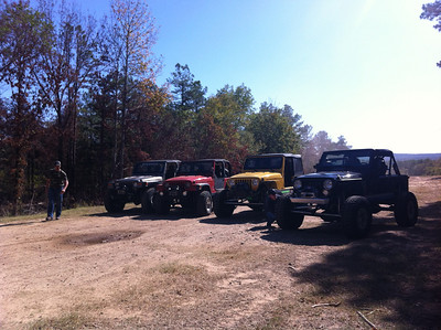 Oct 2011 - Clayton, OK Jeeping iPhone