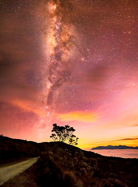 Itatiaia Twilight Milky Way