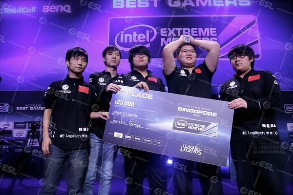 Intel Extreme Masters Singapore 2013