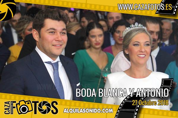 BODA BLANCA Y ANTONIO - 27 OCTUBRE 2018