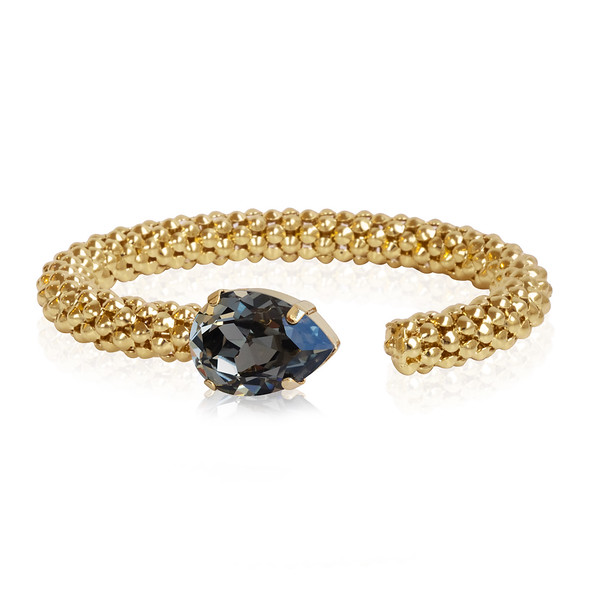 Classic Rope Bracelet / Black Diamond / Gold