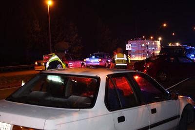 2009-09-02: Checkpoint at Willey Bridge in Richmond
