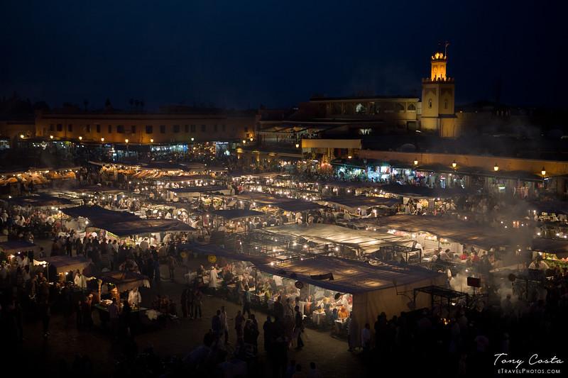 Jemaa el-Fnaa, Marrakesh