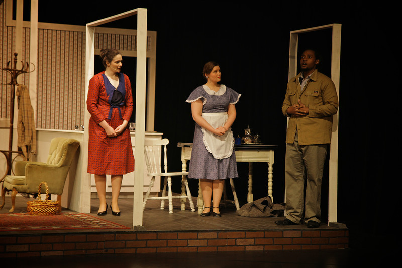 The Old Maid and the Theif; Spring 2014. Second Cast