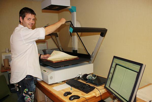 Digital Scanning in Register of Deed's Office