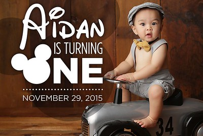 Aidan is Turning One 11/29/15