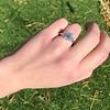 2.50ctw Emerald Cut Diamond 3-stone Ring, GIA E VS1 12