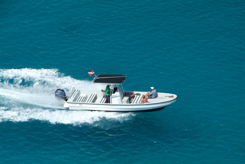 Speed Boat in barbados