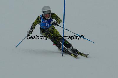 Slalom 1st Race Boys U16 & Older 2nd run