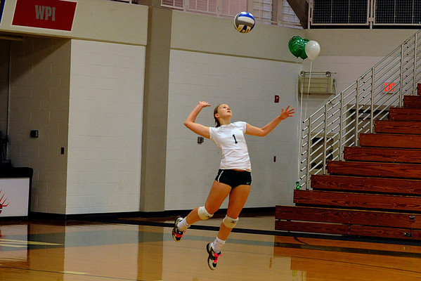 babson volleyball Oct 29, 2011