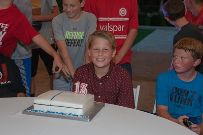 Gabe's 13th Birthday Party