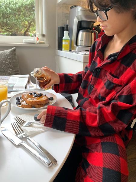 2020.01.26 French toast Sunday breakfast