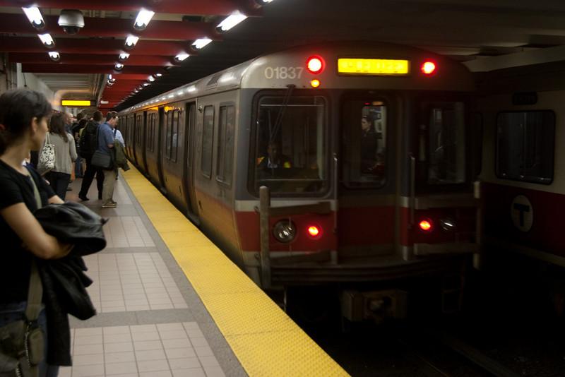 Day 6 - The Boston subway