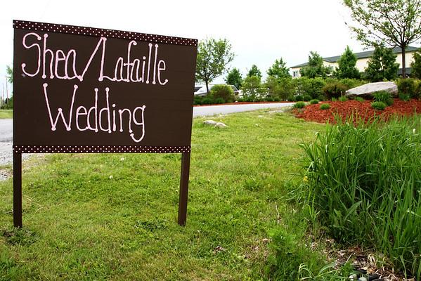 Shea & Lafaille Wedding