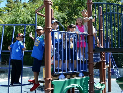 Palm Crest Girl Scouts Help With Beautification Day