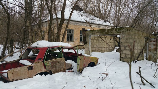 The Ghost Towns of Chernobyl 2018.