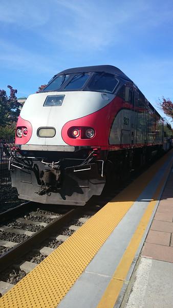 CalTrain, San Jose to San Francisco