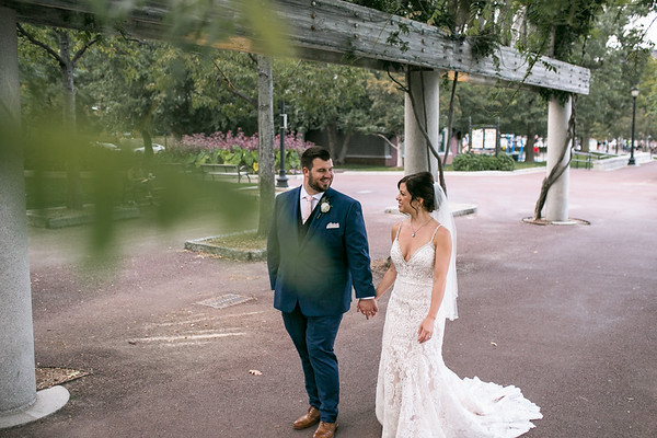 Kelly & Justin's Timeless Marriott Long Wharf Wedding