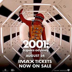 2018 0824 2001 A Space Odyssey 50th Anniversary IMAX 2D Chinese Theatre, John Landis, Kier Dullea