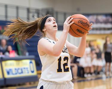 Varsity Girl's Basketball vs. Troy Athens 2/22/2019