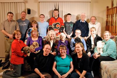 Moir-Unger Family photos