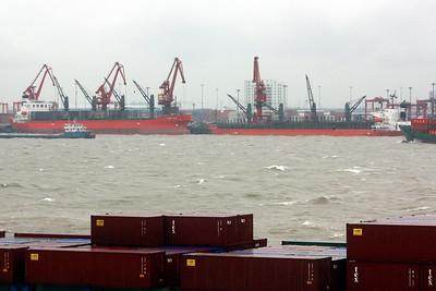 Yangtze River Shipping 2012-2015