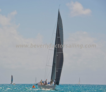 Race Boats  shot from Sunsail #308 Dilligaf - Day 2